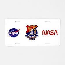 NASA Apollo 10 Aluminum License Plate