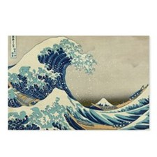 The Great Wave Mt Fuji Postcards (Package of 8)