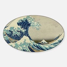 The Great Wave Mt Fuji Decal