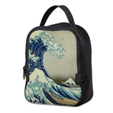 The Great Wave Mt Fuji Neoprene Lunch Bag