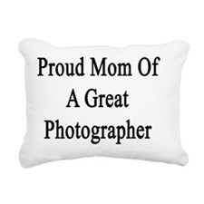 Proud Mom Of A Great Pho Rectangular Canvas Pillow