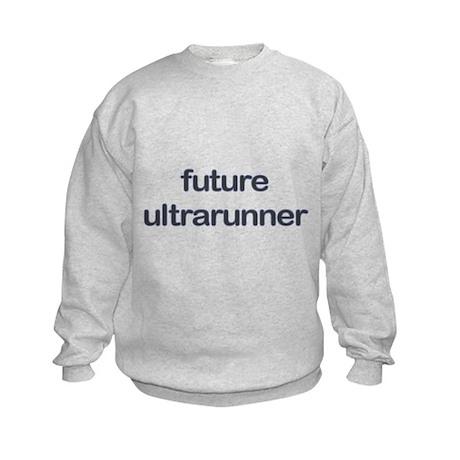 Future Ultrarun Blue Kids Sweatshirt