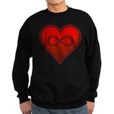 Infinite Love - Heart Shape - Girl Tease Sweatshir