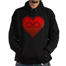 Infinite Love - Heart Shape - Girl Tease Hoodie