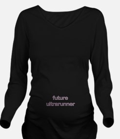 Future Ultrarun Purp Long Sleeve Maternity T-Shirt