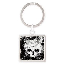 Splatter Skull Keychains