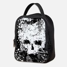 Splatter Skull Neoprene Lunch Bag