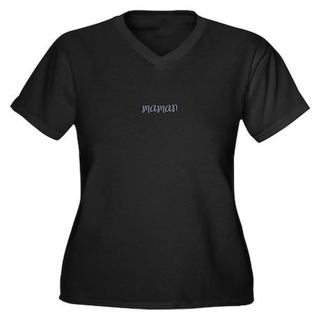maman-blue-sml Plus Size T-Shirt