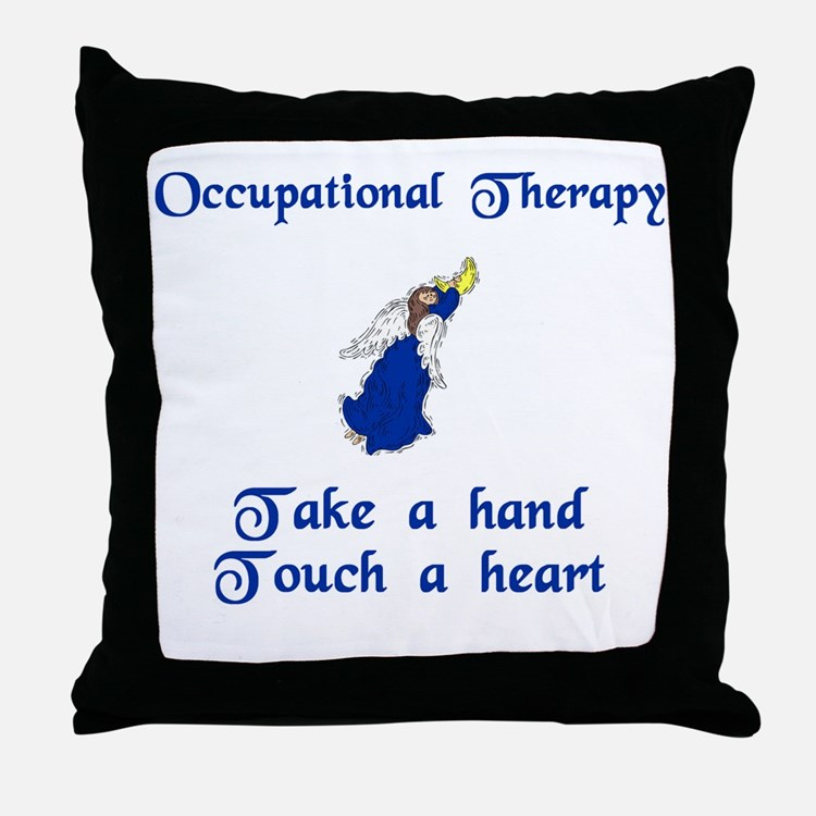 Physical Therapist Throw Pillow