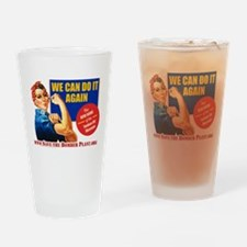 Save the Bomber Plant Drinking Glass