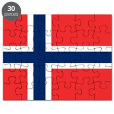 Flag of Norway Puzzle