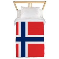 Flag of Norway Twin Duvet