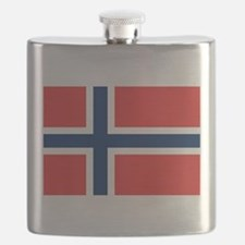 Flag of Norway Flask