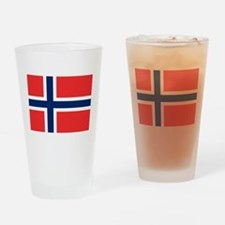 Flag of Norway Drinking Glass