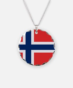 Flag of Norway Necklace