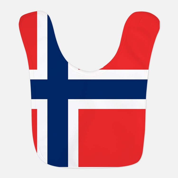 Flag of Norway Bib