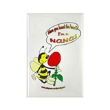 Bumble bee magnets and stickers Single