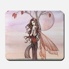 Autumn Fairy Fantasy Art Mousepad