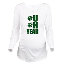 OH YEAH Long Sleeve Maternity T-Shirt