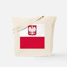 Polish Flag Coat of Arms Tote Bag