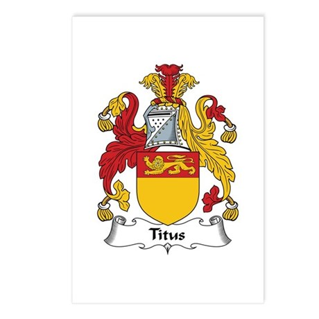 Titus Postcards (Package of 8)