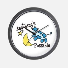 Anythings Possible Wall Clock