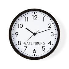 Gatlinburg Newsroom Wall Clock