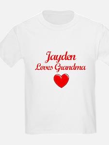 Jayden Loves Grandma T-Shirt