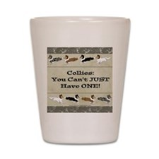 Collie Chips Shot Glass