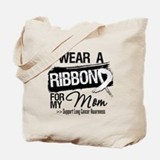 Mom Lung Cancer Tote Bag