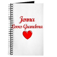 Jenna Loves Grandma Journal