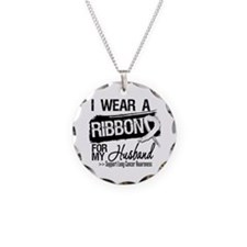 Husband Lung Cancer Necklace