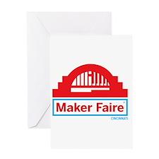 Cincinnati Maker Faire Greeting Cards