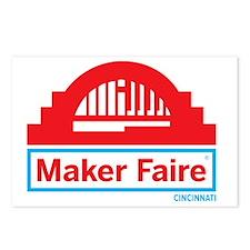 Cincinnati Maker Faire Postcards (Package of 8)