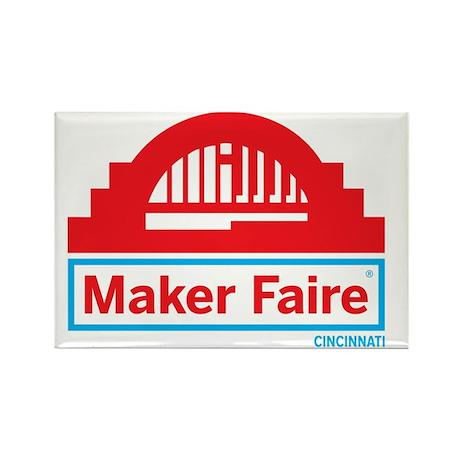Cincinnati Maker Faire Magnets