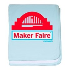 Cincinnati Maker Faire baby blanket