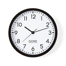 Gore Newsroom Wall Clock