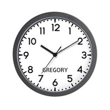 Gregory Newsroom Wall Clock