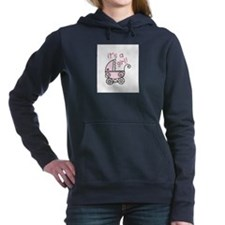 Its A Girl Women's Hooded Sweatshirt