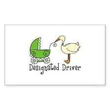 DESIGNATED DRIVER Decal