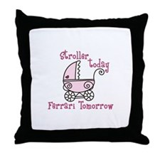 Stroller Today Throw Pillow