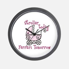 Stroller Today Wall Clock