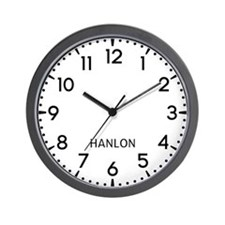 Hanlon Newsroom Wall Clock