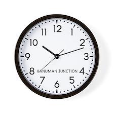 Hanuman Junction Newsroom Wall Clock