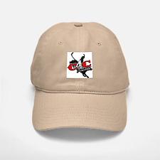 New C4c Bull Rider Design Baseball Cap