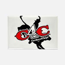 New C4c Bull Rider Design Magnets