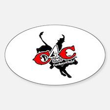 New C4c Bull Rider Design Decal