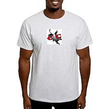 New C4c Bull Rider Design T-Shirt