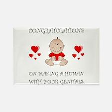 Congratulations Genitals Magnets