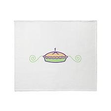 Pie Throw Blanket